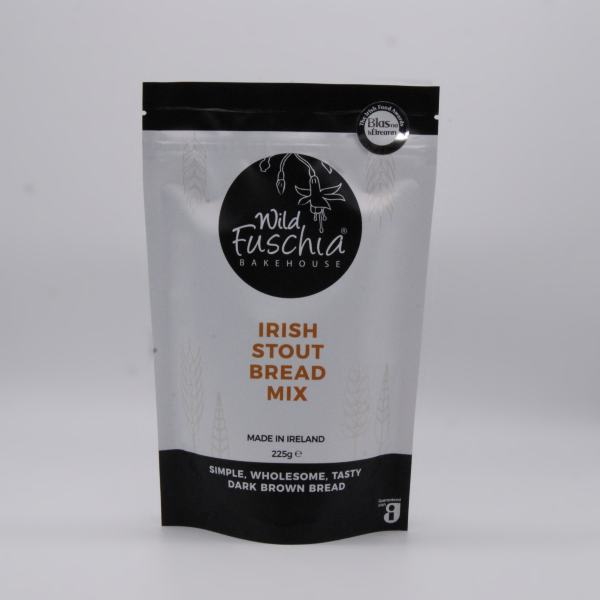 Wild Fuschia Bakehouse Irish Stout Bread Mix on a white background